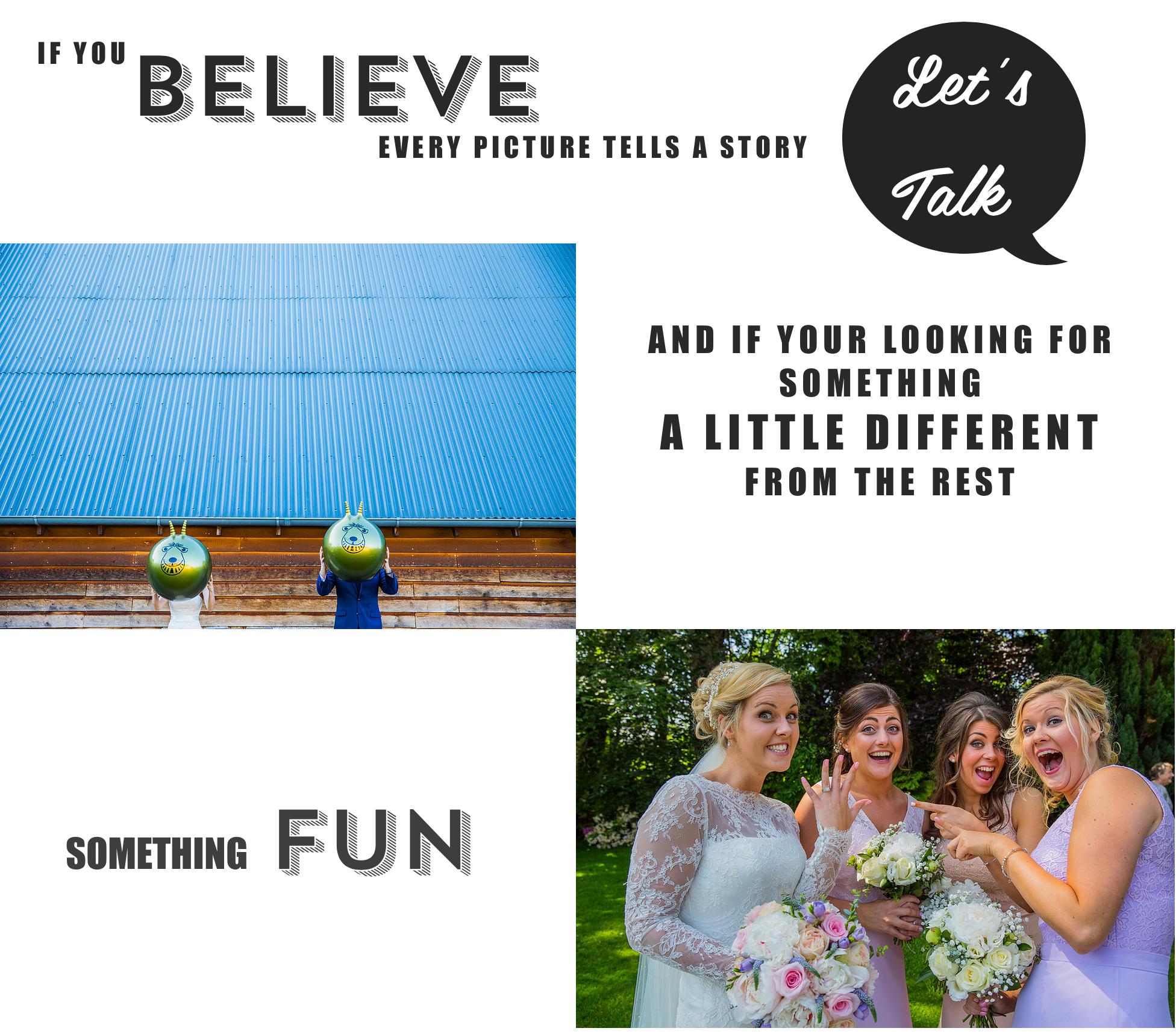 Wedding photographer fun Hampshire