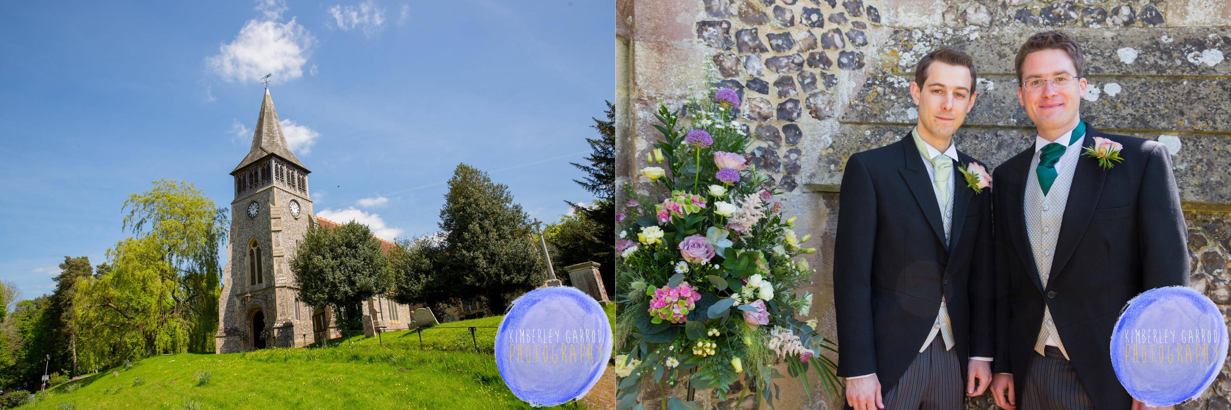 Wickham Church Wedding Kimberley Garrod Photography