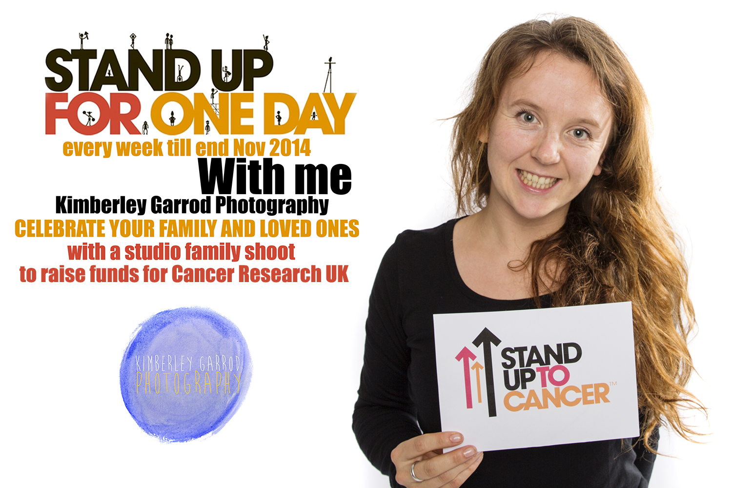 STAND UP TO CANCER KIMBERLEY GARROD