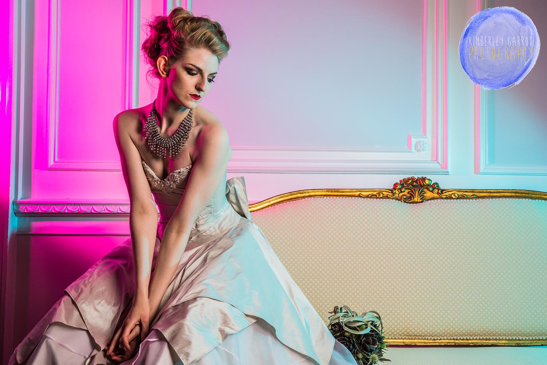 Funky bride Photography kimberley garrod