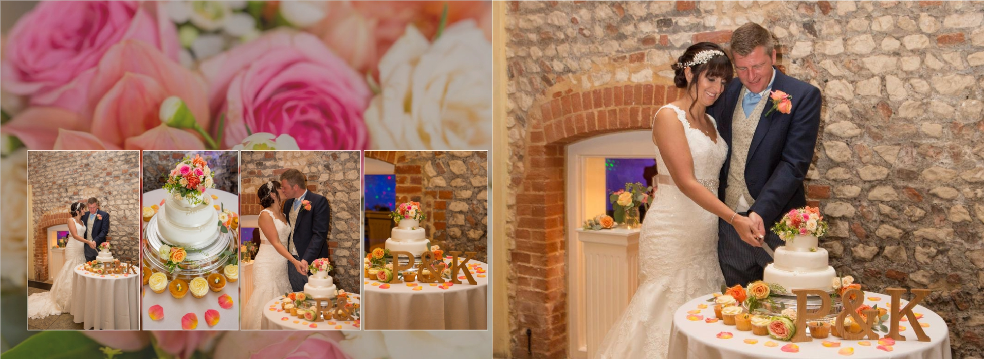 cake cutting photography farbridge wedding venue