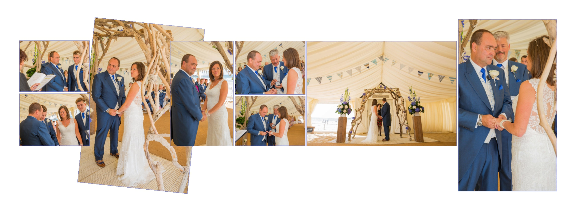 Cenemony wedding photography Beach weddings Kimberley Garrod