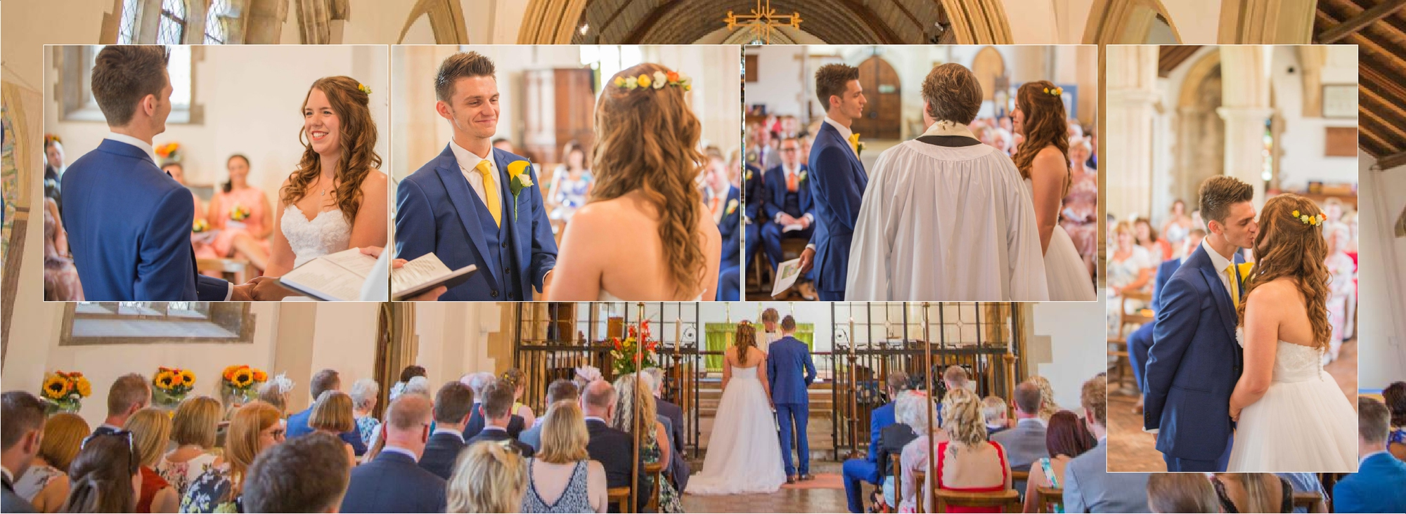 Church wedding photographer Southampton Kimberley Garrod