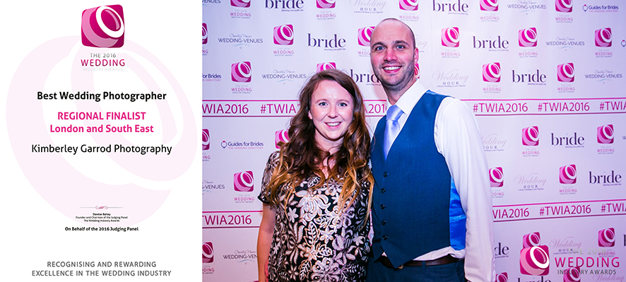 The 2016 Wedding Industry Awards REGIONAL FINALISTLondon a